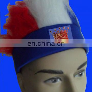 Russia World Cup football Fans Wig Headband Spirit wig hat