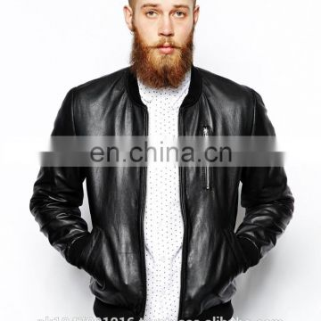 Nappa bomber leather jacket for men 100% Leather