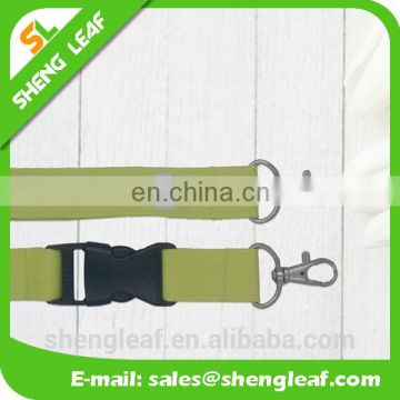 Polyester Material medal ribbon lanyard custom printed lanyards with plastic buckle and hook
