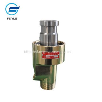 High speed copper hydraulic rotary joint for water Thread and Flangs copper high speed hydraulic rotary joint for water