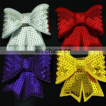 Sequin flower Hair Bow for Handmade DIY Baby Hair Accessories