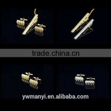 Bulk sale cheap men new cufflinks and tie clip sets F0010                                                                         Quality Choice