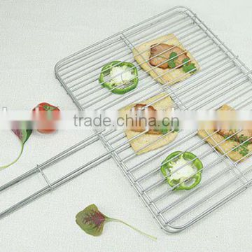 HIGH QUALITY Sell BBQ grill netting wire grill BBQ with chrome plate