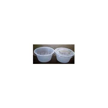 Semi-Clear Disposable Salad Bowl PS Soy Sauce Mini-Cups , Low Temperature