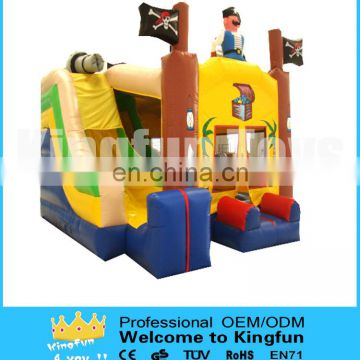Seaworld inflatable bouncer combo with slide