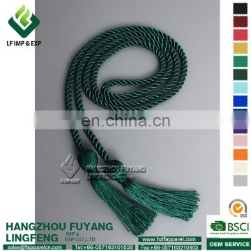 Single Color Graduation Honor Cord (Forest Green)