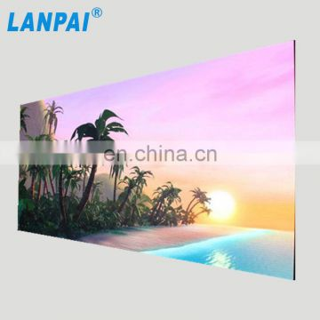 Back Service USB wifi connenction Video Images Approval P4 outdoor led display screen
