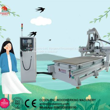 atc cnc wood router cutting engraving machine