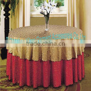white tablecloth for hotel
