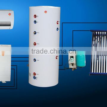 OME Pressurized Type New Trinitiy System(Hybrid Solar AC+air source heat pump+Pressurized Solar Water Heater