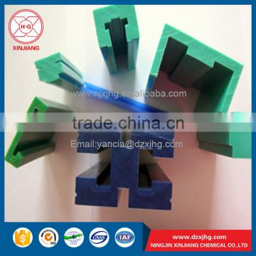 Wear resistance conveyor use plastic green chain guide on sale of