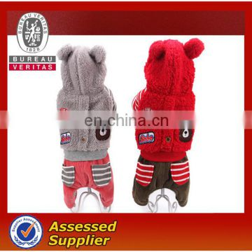 Pet Teddy dog cloth for winter and autumn