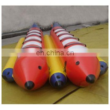 banana boat, boat, inflatable boat