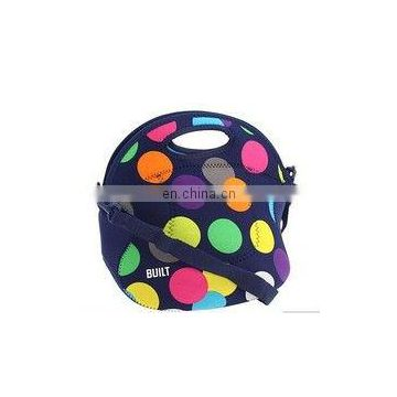 Neoprene lunch bags with pockets/Waterproof trendy lunch bags
