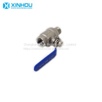 Low pressure industrial 304ss ball valve