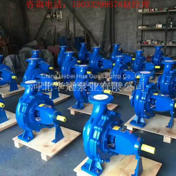 IS series horizontal single stage single suction centrifugal pumps for industrial / urban water supply, drainage, irriga