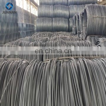 high tension low carbon steel wire rod sae 1008 mild iron wire rod 5.5mm