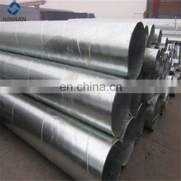 New product Galvanized Steel Pipe Greenhouse Pipe Fence Post Tube