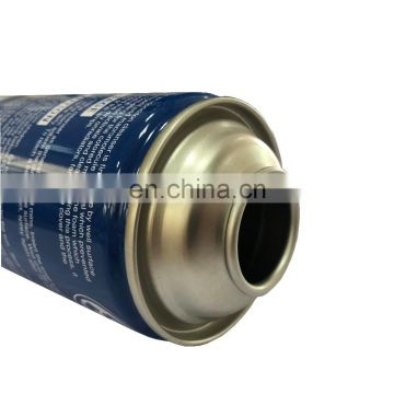 High quality refillable air conditioner bacteria  spray tin can with paint for car cleaner