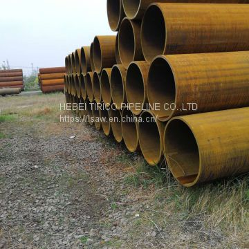 Gi Conduit For Piling /  Offshore Platform Carbon Steel Pipe Ssaw Steel Pipe