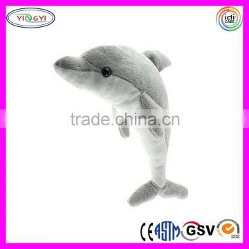 C347 Big Dolphin Stuffed Animal Soft Adorable Sea Animal Plush