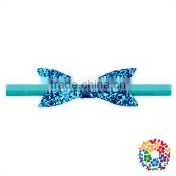 Wholesale Elastic Stretch Headband Set Glitter Sequin kids Hair Accessory