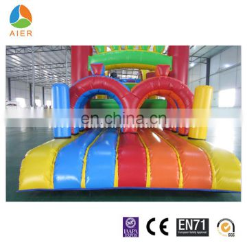 football designed linflatable obstacles, 2015 new product for sale