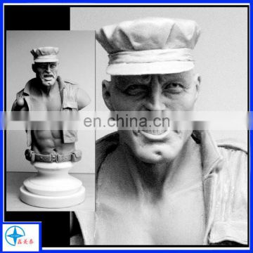 custom old soldier mold prototype
