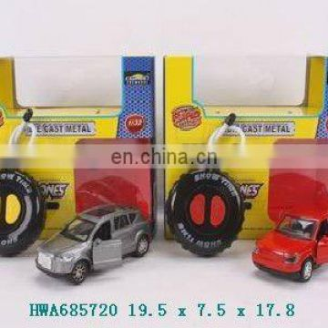 1:32 2-CH die-cast rc metal car