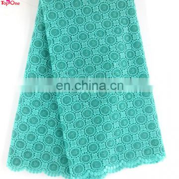 2016 chemical lace for dress\african dress material fabric \Wholesale guipure lace