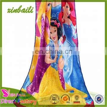 Fashional Sublimation transfer Printed Customized Microfiber Beach Towel