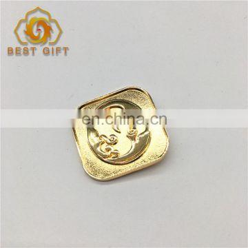 Badge Maker Custom Antique Bronze Metal Sign Logo Lapel Pin