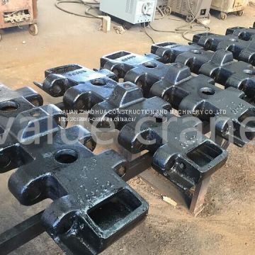 NIPPON SHARY DH650  track shoe track padfor crawler crane undercarriage parts Kobelco PH5100