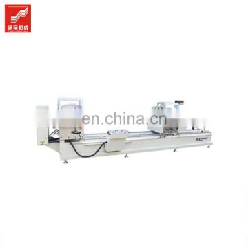 Doublehead miter cutting saw Sliding aluminium window grill design Windows profile process equipment Low Price