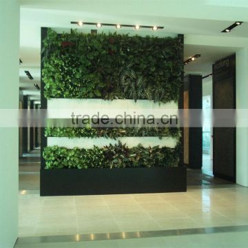 Home and outdoor decoration synthetic cheap artificial vertical green grass wall E08 04Q85
