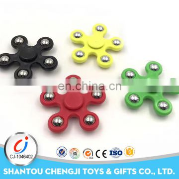 High quality plastic hot items toy finger fidget fight spinner for kids