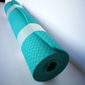 6.0mm Thick Tpe Yoga Mat Durable Comfortable