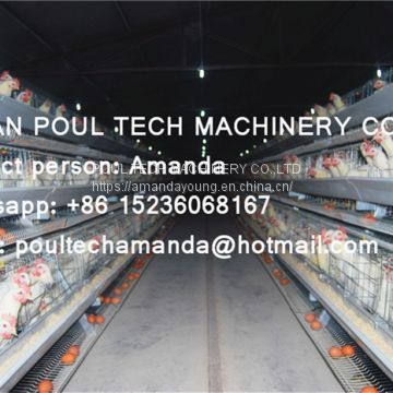 Vietnam Chicken Farming Hot Galvanized Cage for Layer & A Frame Battery Hen Cage & Chicken Coop for Poultry Farm