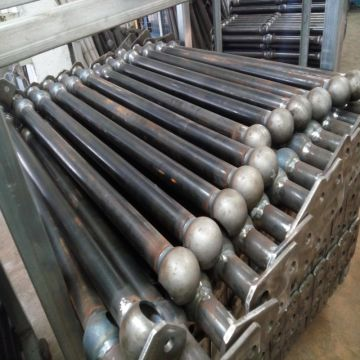Newcastle Barrier Ball fence ball joint stanchions