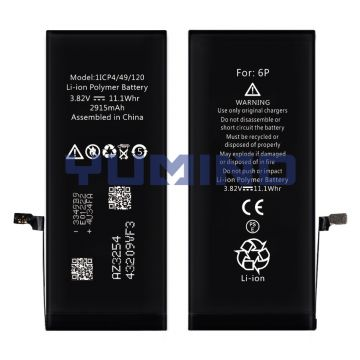Wholesale Built-in Pure Lithium-ion Battery For iPhone 6 Plus True Capacity 2915mAh