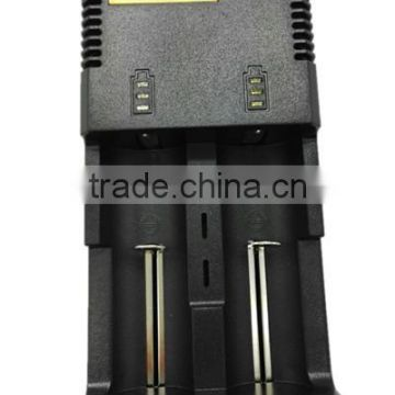 Wholesales Authentic Nitecore i2 made in China 12V 18650 rechargeable lithium battery charger