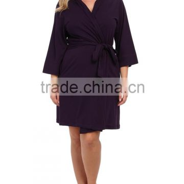 Wholesale Warm Women's Cotton Plus Size Bathrobes
