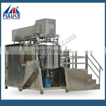 Cosmetics equipment best emulsifier vacuum blender on Alibaba