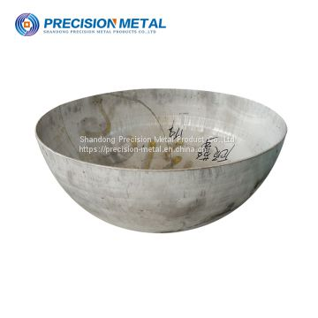 premium 1000mm carbon steel hemisphere for fuel tank