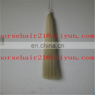 Natural soft and stiff horsetail hair
