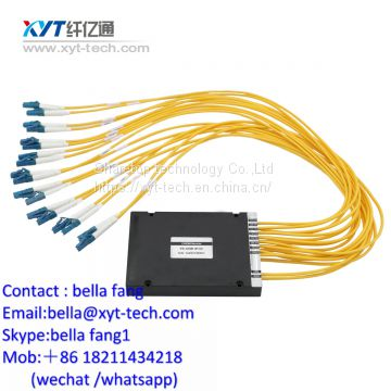 4ch CWDM MUX DEMUX WITH MON UPG Port 1270nm -1610nm