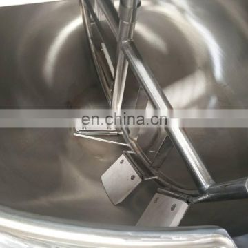 Electric cooking pan jacketed kettle double layer steam jacket kettle for making candy