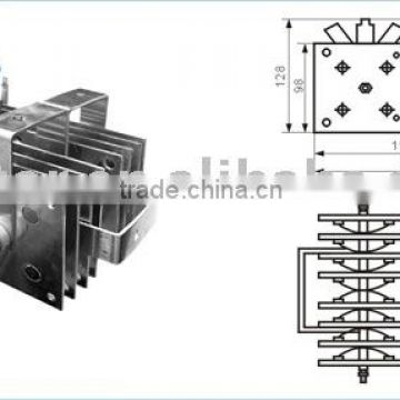 rectifier bridge ,single phase rectifier bridge, three phase rectifier  bridge pts600a (pms pts type for welding) of welder rectifier bridge from  china