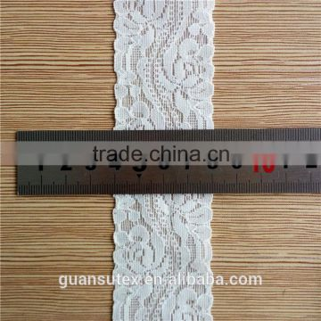 Dyeable Cotton Embroidery Elegant Crochet Lace Trimming in Zhejiang