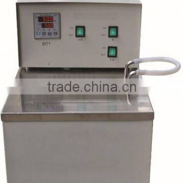 Stainless steel laboratory thermostatic oil bath